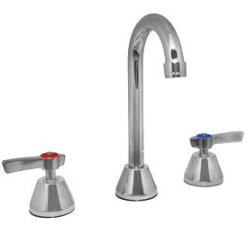 Widespread Faucet, Lever Handles