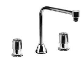 Widespread Faucet, Metering Handles